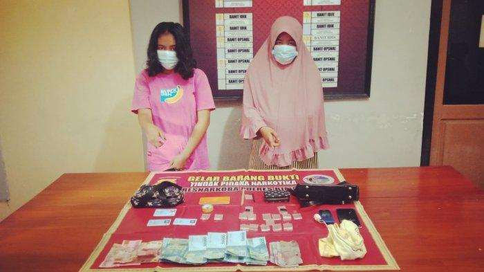 Dua Ibu Rumah Tangga Jualan Narkoba Ditangkap Polres Bima Kota