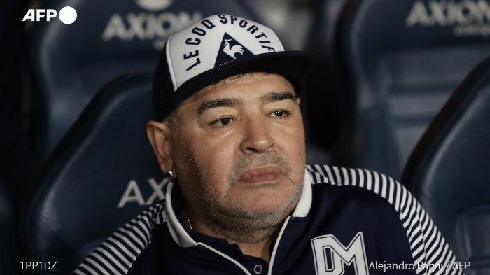 Diego Maradona Meninggal Dunia karena Serangan Jantung, Pernah Tampil di Piala Dunia U-20 1979