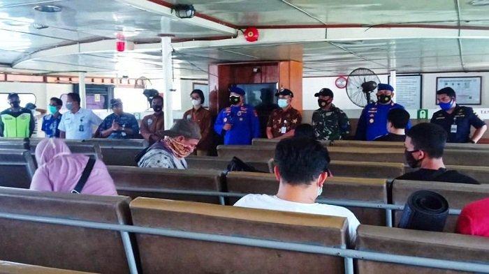 Polairud Polda NTB Cek Kapal, Nakhoda Diingatkan Tak Abaikan Prokes Covid-19