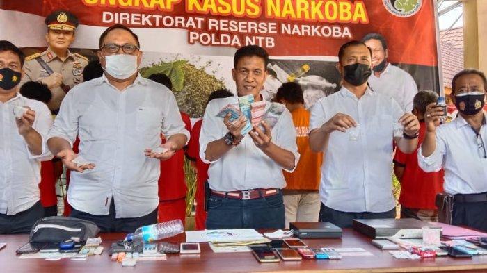 12 Pengedar Narkoba Diringkus Polda NTB, Bandar Tiga Gili Jadi Target Berikutnya