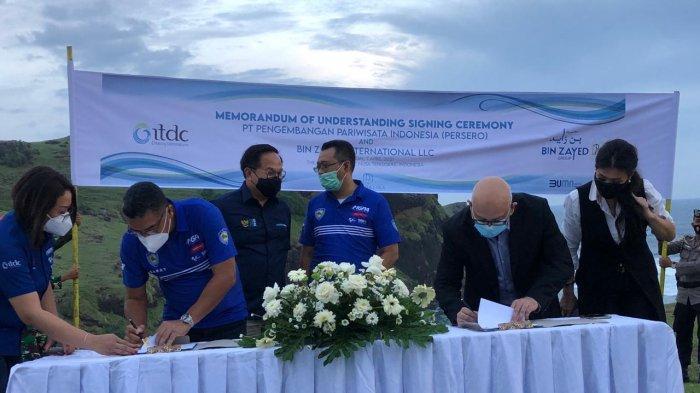 Investor Dubai akan Bangun Lapangan Golf di Bukit Merese