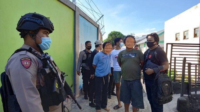 Polresta Mataram Gerebek Rumah Bandar Narkoba, Ciduk 2 Pria Sedang Asik Nyabu