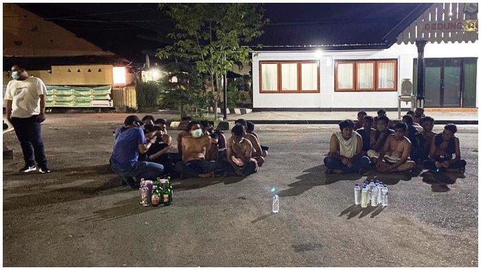 Puluhan Pemabuk, 17 Motor Racing, dan Sajam Disita saat Malam Tahun Baru di Sumbawa