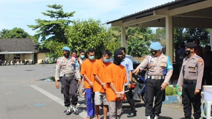 Komplotan Begal Sadis Dibekuk Polres Lombok Barat, Dua Orang Masih Buron