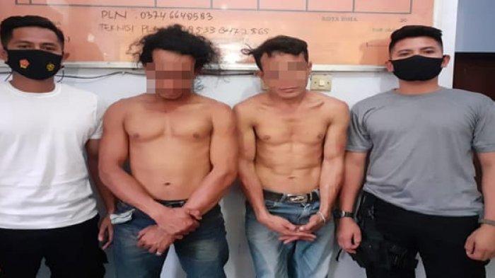Keluarkan Parang dan Ugal-ugalan di Jalan, 2 Pemuda Bima Diringkus Brimob