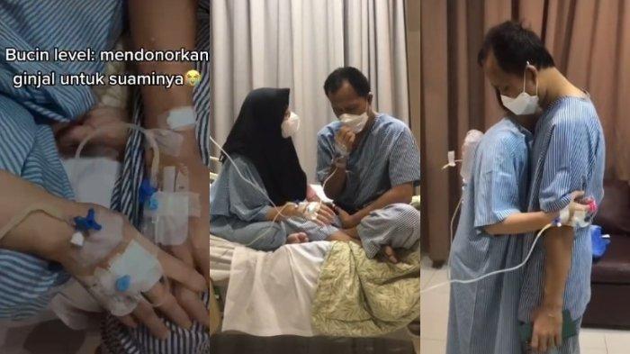 VIRAL Istri Buktikan Cinta dengan Rela Donor Ginjal untuk Suami, Ternyata sang Suami Anggota Polisi
