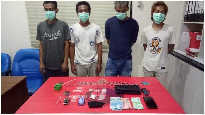Hendak Pesta Sabu, 4 Pemuda Sumbawa Dibekuk Polisi