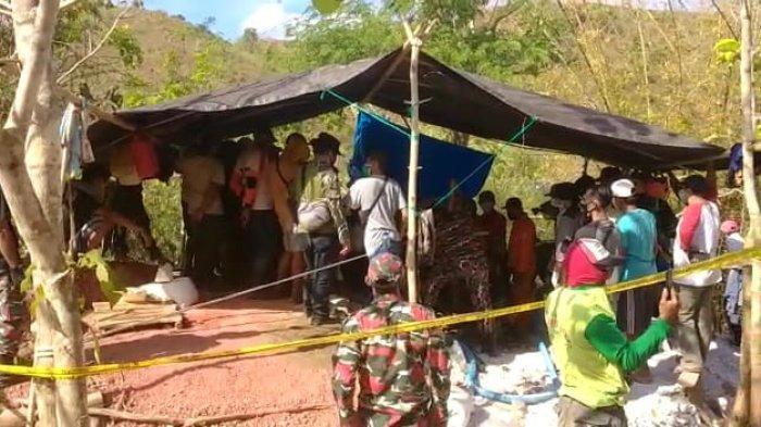 Polisi Tutup Tambang Emas Ilegal yang Tewaskan 4 Orang di Desa Gapit Sumbawa