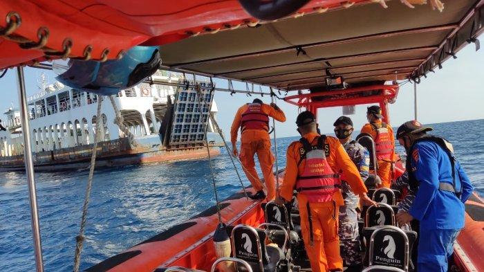 Kapal Kandas di Gili Kondo, 47 Orang Penumpang Selamat Dievakuasi
