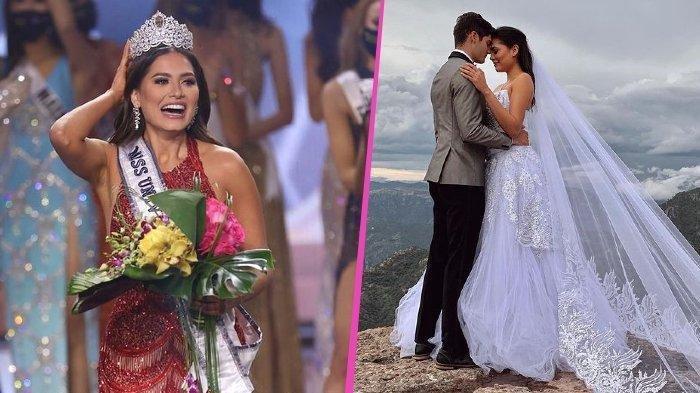 Miss Universe 2020 Andrea Meza Akui Foto Pernikahannya Hanya Prank: Dia Adik Bungsu Sahabatku