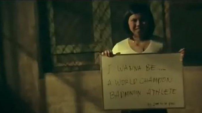 Greysia Polii sempat tulis impian jadi juara sembilan tahun silam pada video klip Agnezmo bertajuk Muda