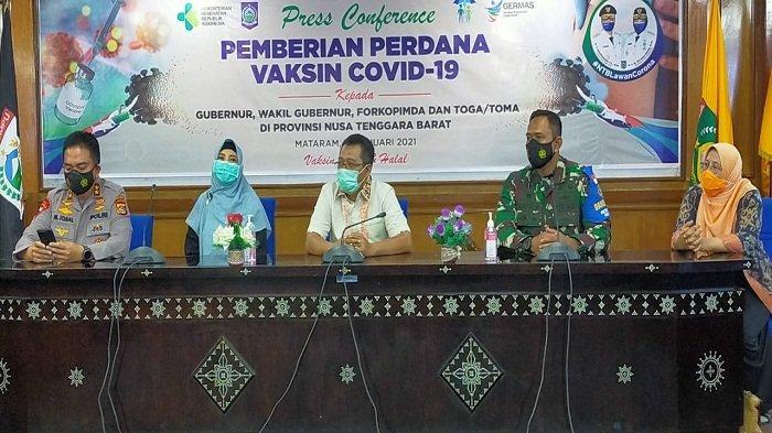 Gubernur NTB Minta Wartawan Disuntik Vaksin Covid-19: Biar Merasakan