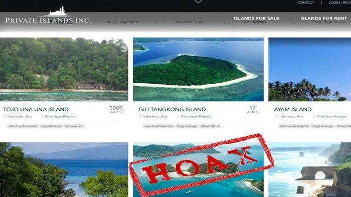 Polres Lombok Barat Sebut Penjualan Gili Tangkong di Situs Online adalah Hoaks