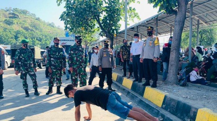 Waspada Ledakan Covid-19 setelah Lebaran, Pelabuhan Poto Tano Mendapat Atensi Khusus