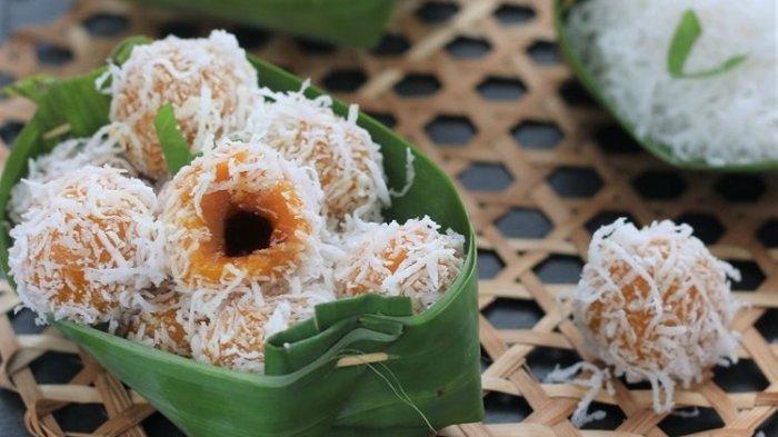 Resep dan Cara Membuat Klepon Ubi, Warnanya Oranye Cocok untuk Dijual Mendatangkan Laba