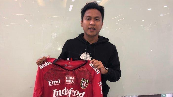 Pemain Bali United, Fahmi Al Ayyubi Masih Berharap Liga 1 2020 Dilanjutkan