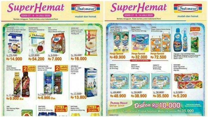 Katalog Promo Indomaret Super Hemat Edisi 8-14 Juli 2020, Belanja 2 Lebih Hemat