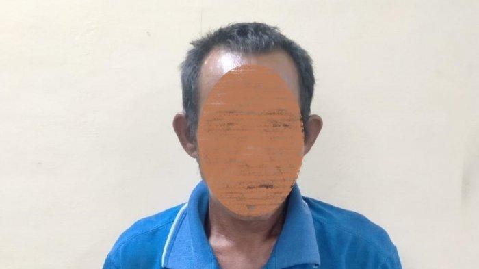 Kakek J alias Oyon, pelaku rudakpaksa korban remaja berinisial DA