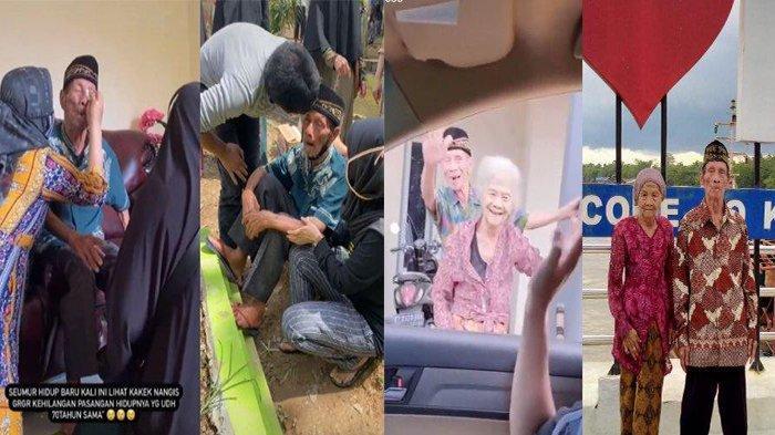 VIRAL Video Tangisan Kakek yang Ditinggal Istri, Sudah 73 Tahun Bersama Kini Kerap Melamun
