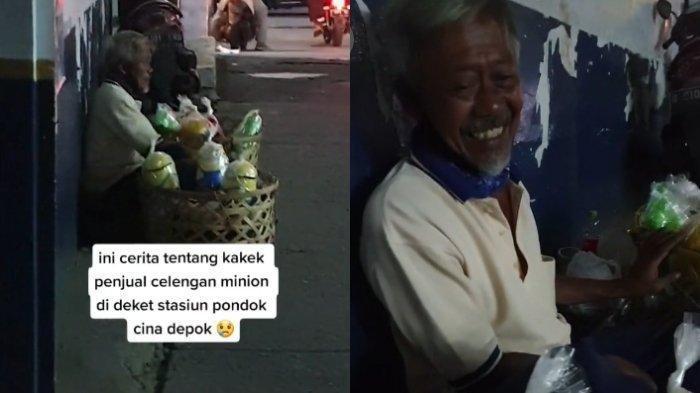 VIRAL Kisah Kakek Penjual Celengan Tak Makan Seharian Demi Penuhi Nafkah Istri