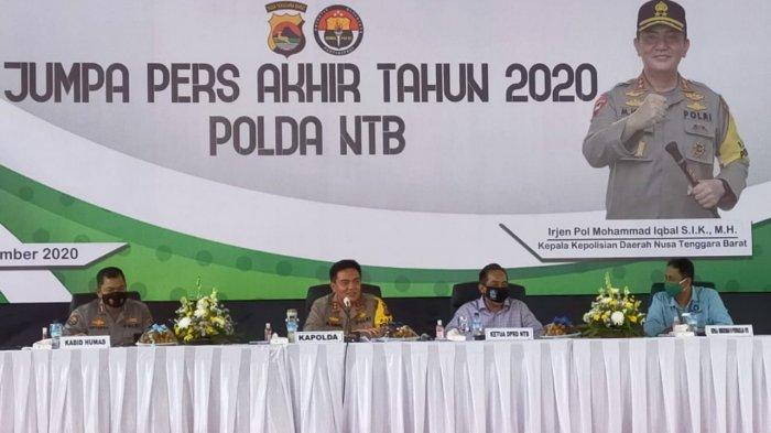 Kejahatan di NTB Berkurang 786 Kasus, Penanganan Korupsi pun Ikut Turun