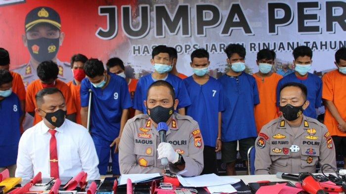 Tangkap 88 Pelaku Kejahatan, Kapolres: Waspada, Lombok Barat Jadi Sasaran Penjahat