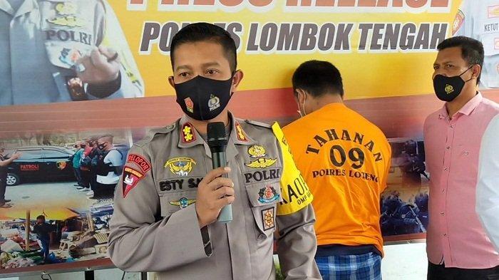 Rumah Pelaku Pembunuh Wanita di Pengembur Dirusak, Kapolres Lombok Tengah Minta Warga Tahan Diri