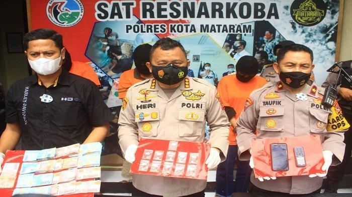Tergiur Untung Besar, Oknum PNS Dinas Kesehatan Lombok Barat Jualan Ekstasi