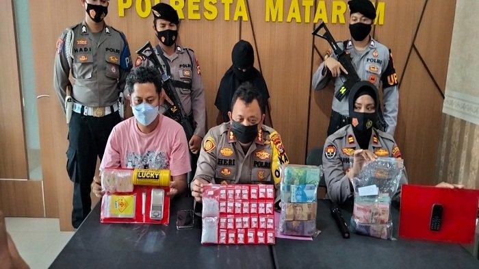 Ibu di Mataram Jadi Kurir Narkoba Diciduk Polisi: Jaringan Lapas, Simpan Sabu & Uang Rp 148 Juta
