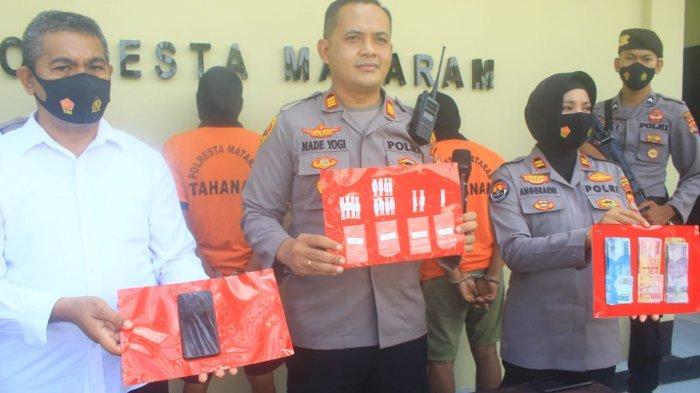 Sabu Disimpan di Bawah Pohon Pisang, Tiga Pengedar Jaringan Kampung Narkoba Karang Bagu Ditangkap