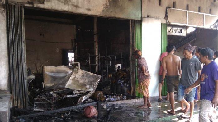 Toko Warga di Lombok Tengah Hangus Terbakar, Berawal saat Anaknya Tuangkan Bensin