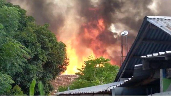 Penyebab Kebakaran 63 Rumah di Bima, Polisi Sebut Sumber Api dari Sampah