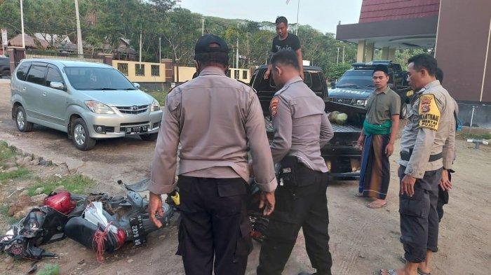 WASPADA, Tabrakan Motor di Lombok Tengah Membuat Dua Pengendara Kritis