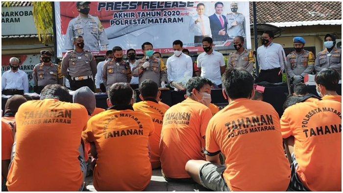 883 Kejahatan Terjadi di Mataram, Ada Kasus Uang Palsu hingga Korupsi Bantuan Gempa