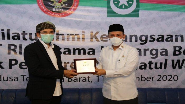 Kunjungan ke Lombok, Kepala BNPT: Banyak Anak Muda Direkrut Kelompok Terorisme
