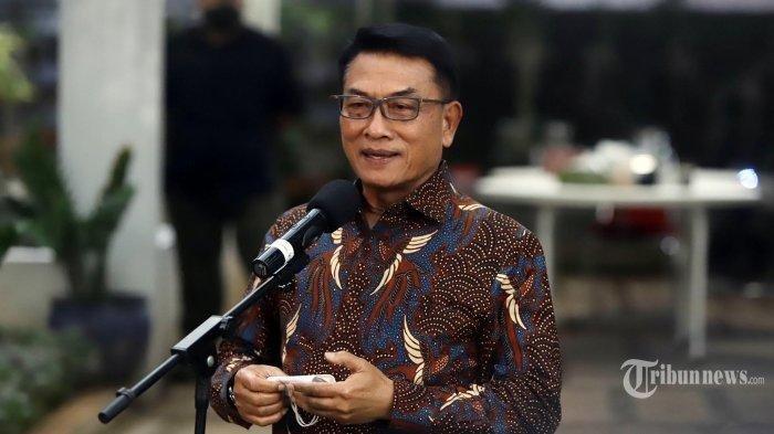 Reshuffle Kabinet Kabarnya akan Dilaksanakan Hari Ini, Mensesneg Ungkap Nasib Moeldoko