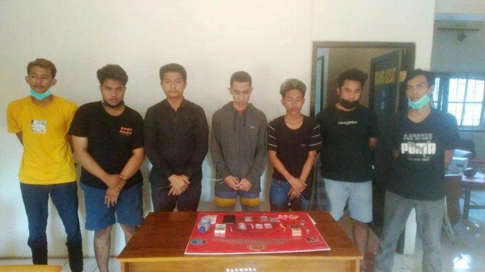 Hendak Pesta Sabu di Kamar Kos, 7 Pemuda Sumbawa Diringkus Polisi