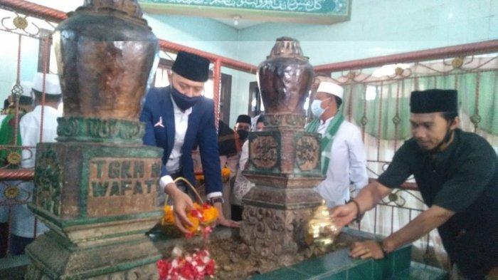 Ziarah ke Makam TGH Saleh Hambali, AHY Didoakan Jadi Presiden