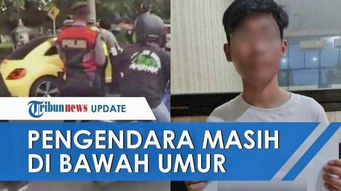 Update Viral Video Pengemudi Mobil Terobos Pos Penyekatan Tabrak Polisi, Masih di Bawah Umur