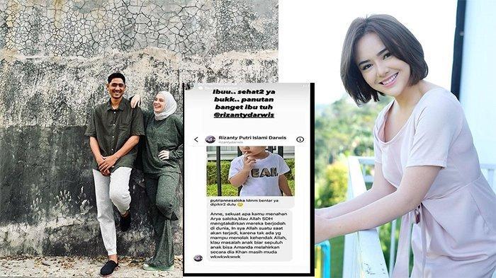 Netizen Doakan Arya Saloka dan Amanda Manopo Berjodoh di Dunia, Putri Anne Beri Sindiran Halus