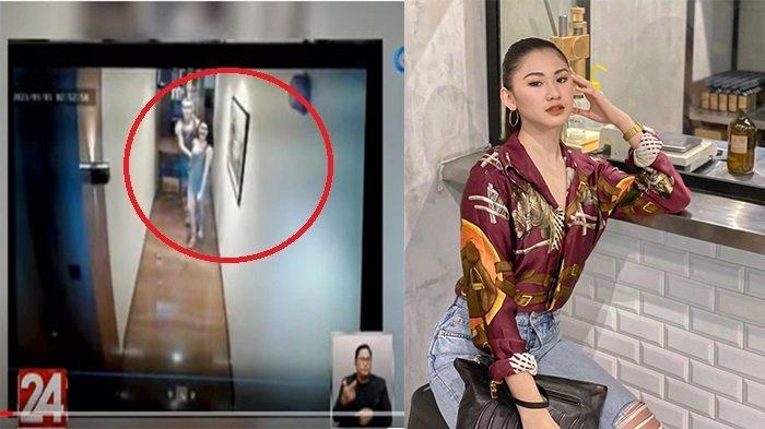 Detik-detik Christine Dacera sebelum Tewas Terekam CCTV Hotel, Mesra Bersama Pria Lalu Masuk Kamar