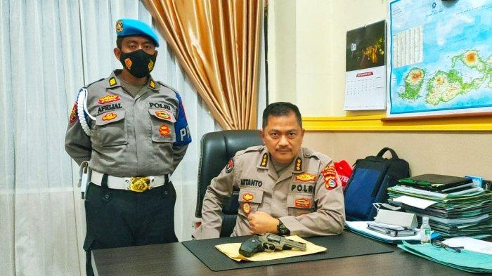 Oknum Polisi Jadi Debt Collector Todong Warga Pakai Pistol Mainan, Polda NTB Beri Tindakan Tegas
