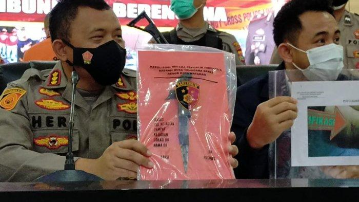 Setelah Bunuh Adik Ipar, Tukang Asah Pisau di Mataram Minta Maaf ke Keluarga