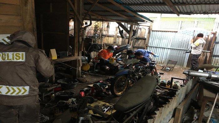 Pemuda Kota Bima Ditemukan Tewas di Gudang Kayu,  Kedua Tangan Memegang Kabel