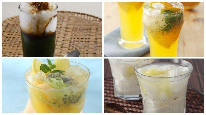 Resep Aneka Minuman Spesial Menu Buka Puasa: Orange Mint Squash hingga Es Cincau Hijau