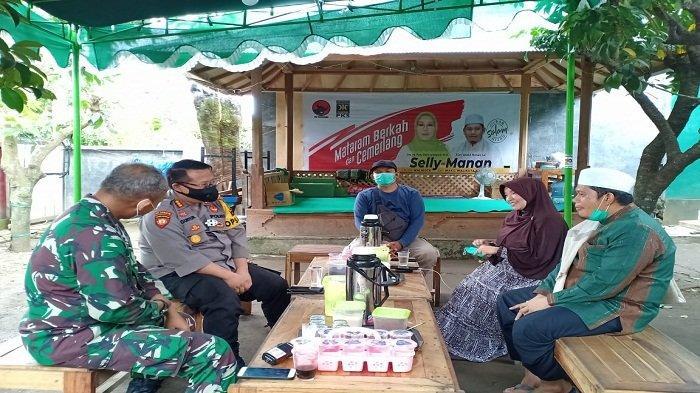 Pasca-Pemilihan, Kapolresta dan Dandim 'Blusukan' ke Rumah Paslon Pilkada Kota Mataram