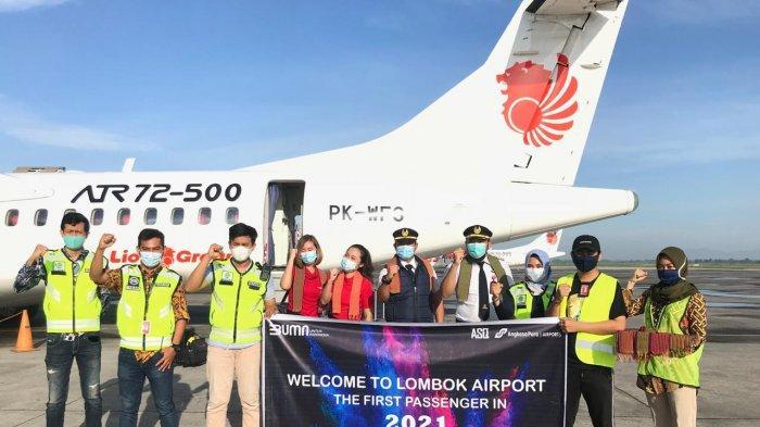 Penumpang Bandara Lombok Berkurang 1,6 Juta, Kembali Bergairah di Akhir Tahun
