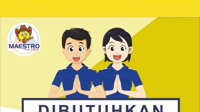 Lowongan kerja CV Master di Mataram