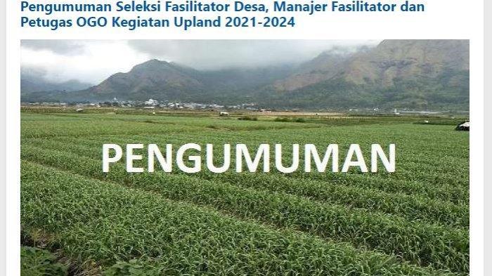 Lowongan Kerja Lombok - Dibutuhkan Fasilitator Desa hingga Manajer di Lombok Timur, Ini Syaratnya