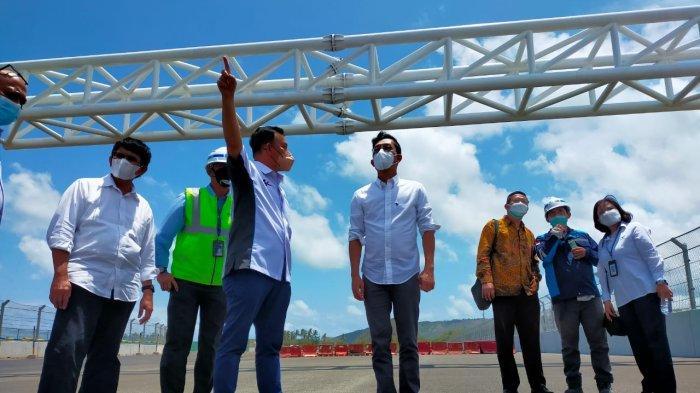 Proyek Infrastruktur Sirkuit Mandalika Senilai Rp 395 Miliar Diserahkan ke ITDC